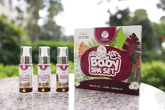 Fungsi Baby Spa Set