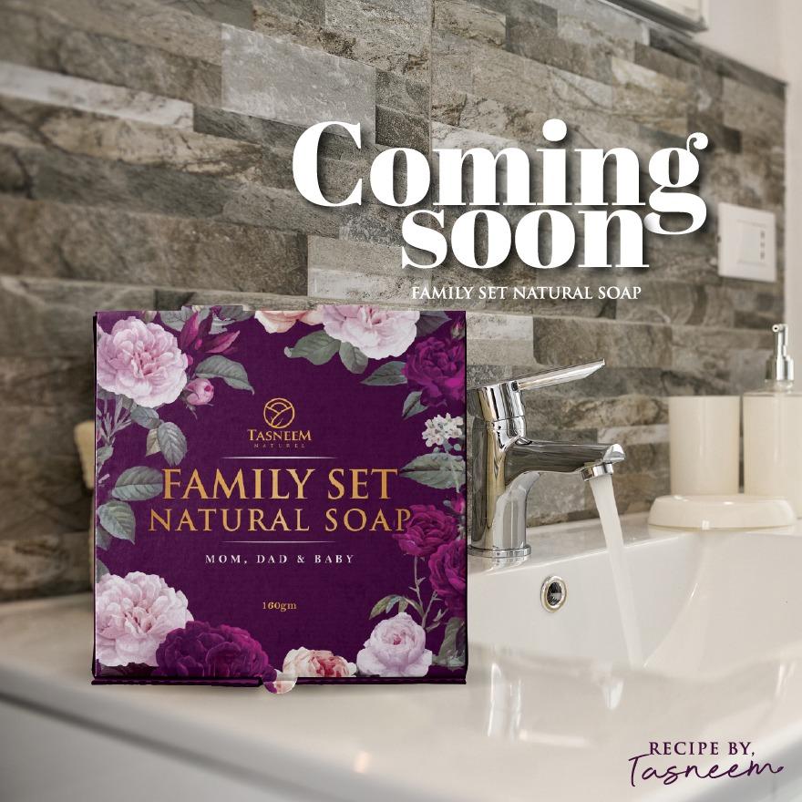 Family Set Natural Soap
